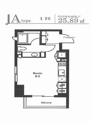 ステイシス町屋 / Aタイプ(25.89㎡) 部屋画像1