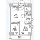 Tamachi 4 min Apartment / Eタイプ(51.18㎡) 部屋画像1