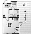 88.HANEZAWA / 1K(24.66㎡) 部屋画像1