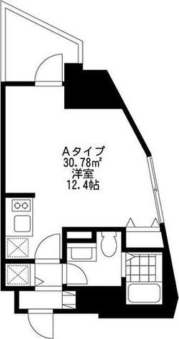 SIDE One(サイドワン) / Aタイプ(30.78㎡) 部屋画像1