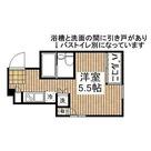 リバーサイド八丁堀 / 1K(20.82㎡) 部屋画像1