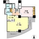 品川シーサイドビュータワーⅠ / 2902 部屋画像1