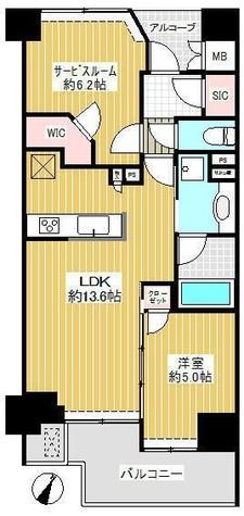 ジオ目黒 / 403 部屋画像1
