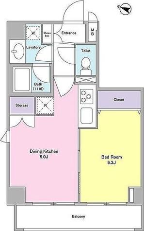 アンテニア本駒込 / 1DK(37.89㎡) 部屋画像1