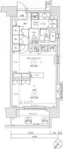 スパシエルクス西川口 / 1DK(40.95㎡) 部屋画像1