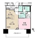 ザ・パークハウス渋谷美竹 / 1702 部屋画像1