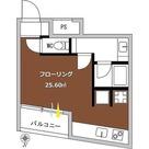 シグマ柿の木坂 / ワンルーム(25.60㎡) 部屋画像1