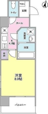 ラークガーデン木場 / 1K(29.38㎡) 部屋画像1
