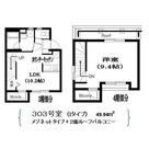 Residence Nakameguro(レジダンス ナカメグロ) / 303 部屋画像1