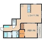 ガーデニアテラス上野毛 / 1LDK(42.65㎡) 部屋画像1