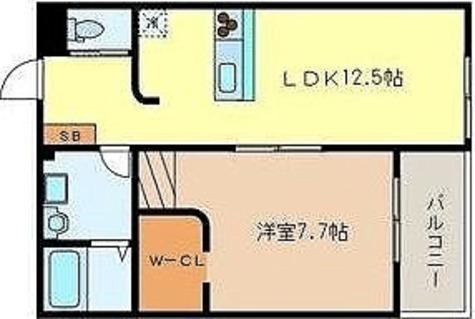 ガーデニアテラス上野毛 / 1階 部屋画像1