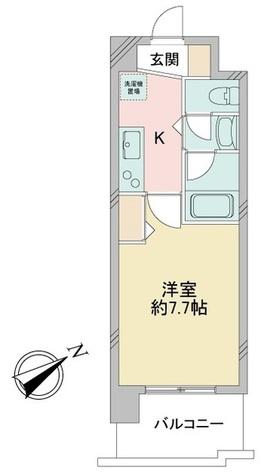 アルフィーレ新栄 / 1K(24.90㎡) 部屋画像1