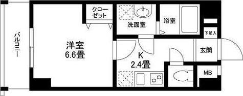 ドルチェヴィータ自由が丘 / 2 Floor 部屋画像1