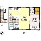 サンシャンテ上野毛 / B-1LDK(53.70㎡) 部屋画像1