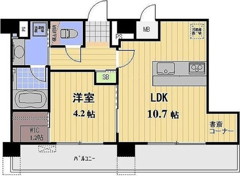 プロスペクト恩賜公園 / 1LDK(38.86㎡) 部屋画像1