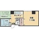 ヴィレ新宿御苑 / 1K(25.42㎡) 部屋画像1