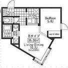 ALERO高田馬場 / 1LDK(36.06㎡) 部屋画像1