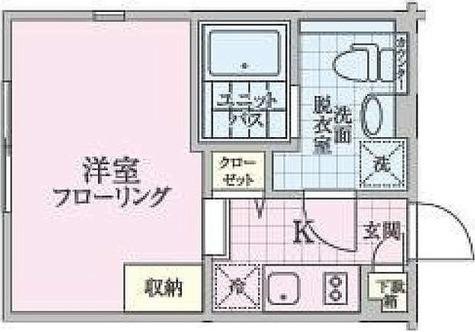 パークスクエア目黒不動前 / 1K(20.67㎡) 部屋画像1