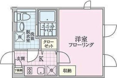 パークスクエア目黒不動前 / 1K(23.52㎡) 部屋画像1
