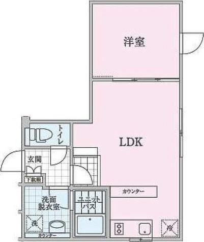 パークスクエア目黒不動前 / 1LDK(37.17㎡) 部屋画像1