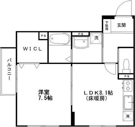 ヒルズ代沢4丁目 / 1階 部屋画像1