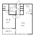 祐天寺イースト / 1LDK(49.08㎡) 部屋画像1