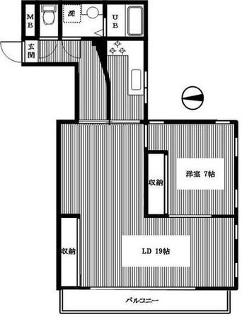プライム御殿山 / 3階 部屋画像1