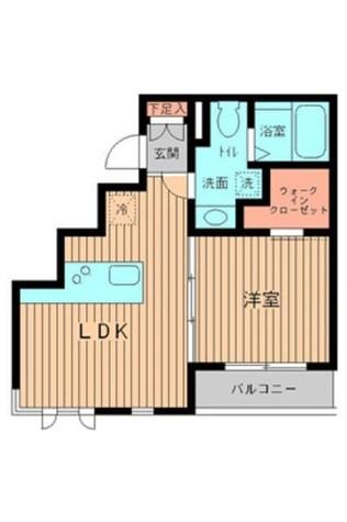 プロスペクト初台 / 2階 部屋画像1