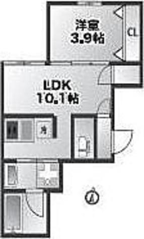 プライム八幡山 / 2K(58.57㎡) 部屋画像1