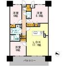ロイヤルパークスERささしま / E-3LDK(82.31㎡) 部屋画像1