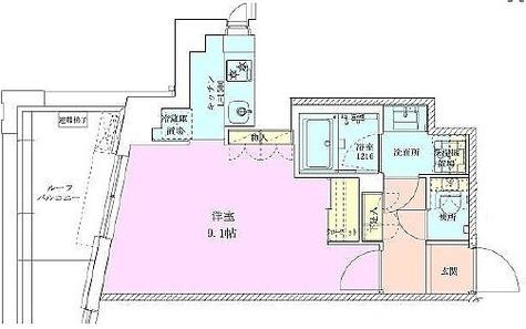 広尾レジデンス壱番館 / Gタイプ(31.48㎡) 部屋画像1