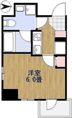 パークスクエア住吉 / 1K(20.46㎡) 部屋画像1