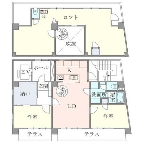 ティアラ恵比寿 / 701 部屋画像1