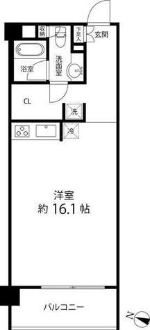 レガリア都立大レジデンス / 2階 部屋画像1