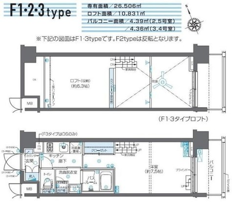 ZOOM芝浦 / 9階 部屋画像1