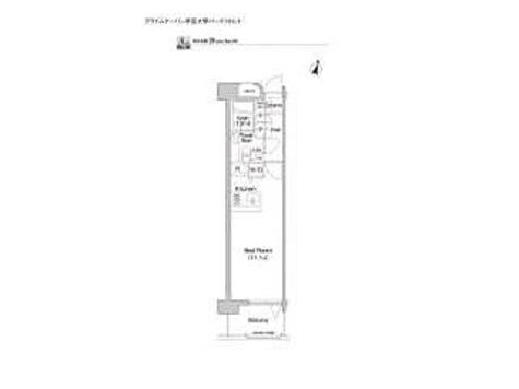 グレンパーク目黒本町 / ワンルーム(28.28㎡) 部屋画像1