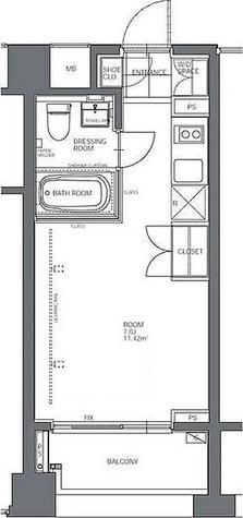 コートモデリア人形町 / 1階 部屋画像1
