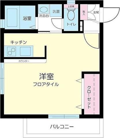 アレイムK / 1R(31.50㎡) 部屋画像1