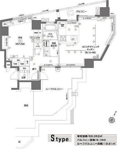 ZOOM都立大学 / 9階 部屋画像1