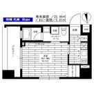 グランドコンシェルジュ新御徒町駅前 / 1K(24.44㎡) 部屋画像1