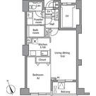 レジディア自由が丘 / 1LDK(43.49㎡) 部屋画像1