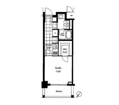 パークキューブ目黒タワー / 209 部屋画像1