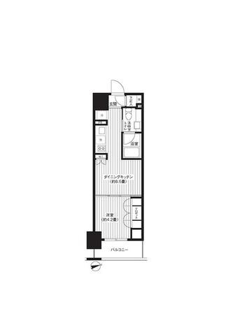 レジディア新御徒町 / 1DK(30.24㎡) 部屋画像1