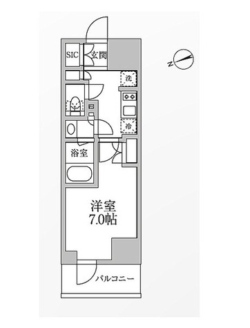 レジディア新御徒町 / 1K(25.4㎡) 部屋画像1