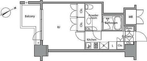 レジディア麻布台 / 1K(28.52㎡) 部屋画像1
