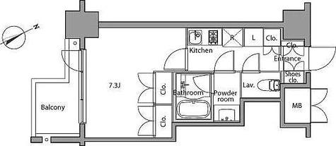 レジディア麻布台 / 1K(27.00㎡) 部屋画像1