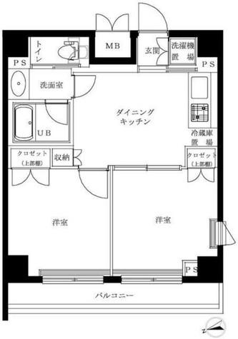 ルーブル大井町参番館 / 905 部屋画像1