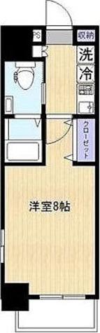 ラヴィエント南千住Ⅴ / Cタイプ(25.42㎡) 部屋画像1