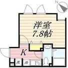 Lapis幡ヶ谷 / 1K(23.67㎡) 部屋画像1