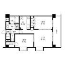 レジディア池袋 / 2LDK(54.19㎡) 部屋画像1